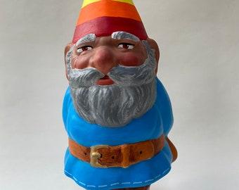 Hand-Painted Ceramic Pride Gnome