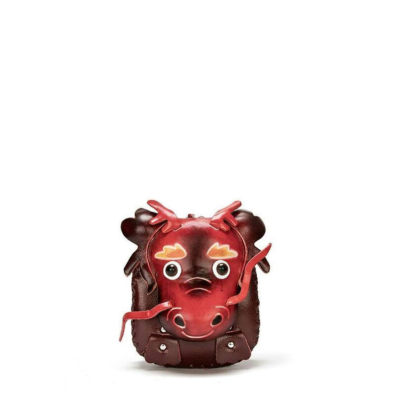 Chinese Zodiac Dragon leather coin purse, Dragon change bag, Valentines's  Day Gifts, Chinese new year, Animal coin bag, purse for kids