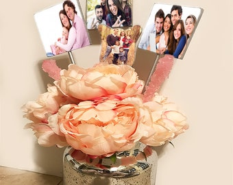Personalized Photo flower gift