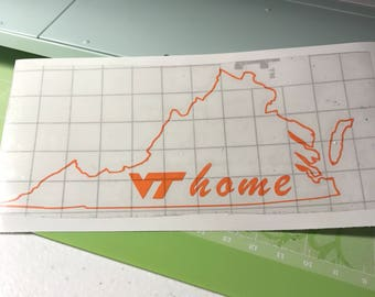 VT Home Sticker