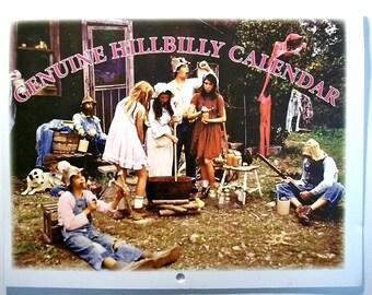 2018 Genuine Hillbilly Calendar