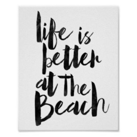 Items Similar To Life Is Better At The Beach
