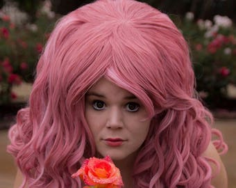 Custom Rose Quartz Wig