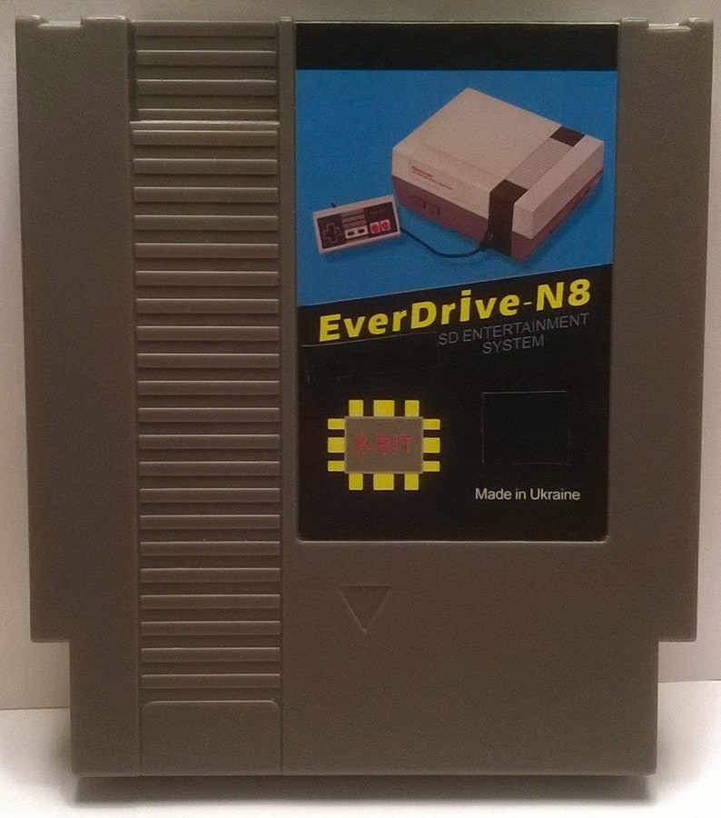 Everdrive N8 Flash Cart with 8gb Sd Card Preloaded with Over image 0