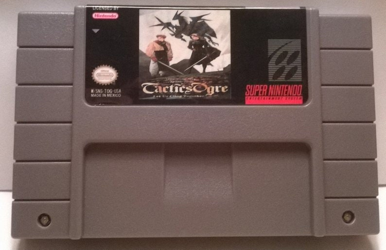 Tactics Ogre Let Us Cling Together Generic SNES Cartridge - 16-Bit Cart  Reproduction Nintendo