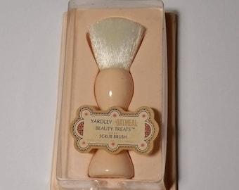 Yardley Rare Vintage Collectible Oatmeal Beauty Treats Scrub Brush 1960's