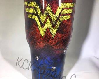 Wonder Woman Tumbler