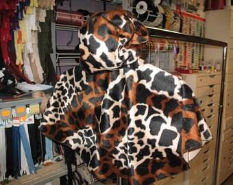 déguisement cape panthère taille 0-2ans