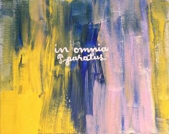 In omnia paratus painting