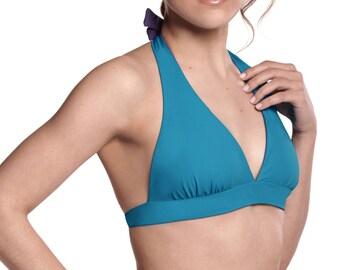 Reversible Bikini Halter Top Swimwear VELAR