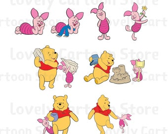 piglet template etsy
