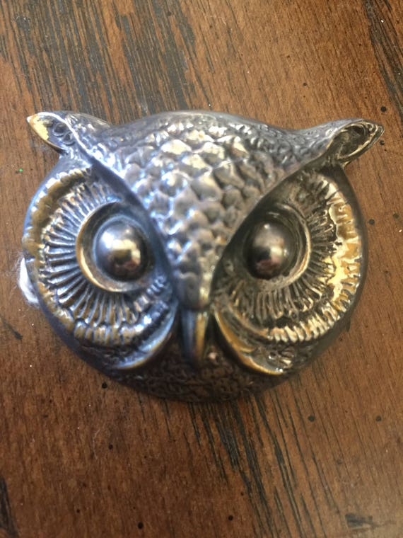 Silver Owl Pendant by Joseff Hollywood