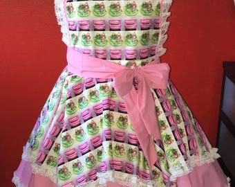 Vintage pinup apron
