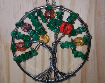 Handmade Wire Wrapped Tree of Life