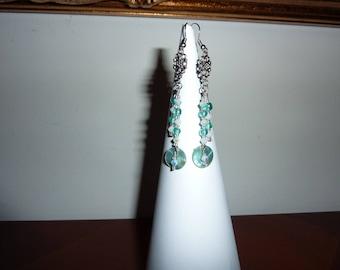 Earrings ' ear swarovski and Pearl glass