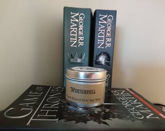 Winterfell candle