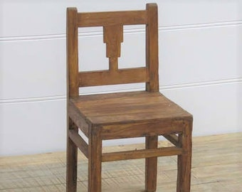 Cute Wooden Indian Chair