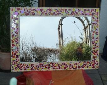 Mosaik Magnetspiegel Spiegel Magnetwand Mit Mosaikrahmen