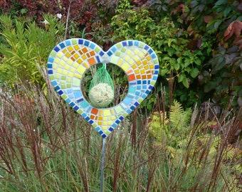 Mosaic Feeding Station Heart on the Staff
