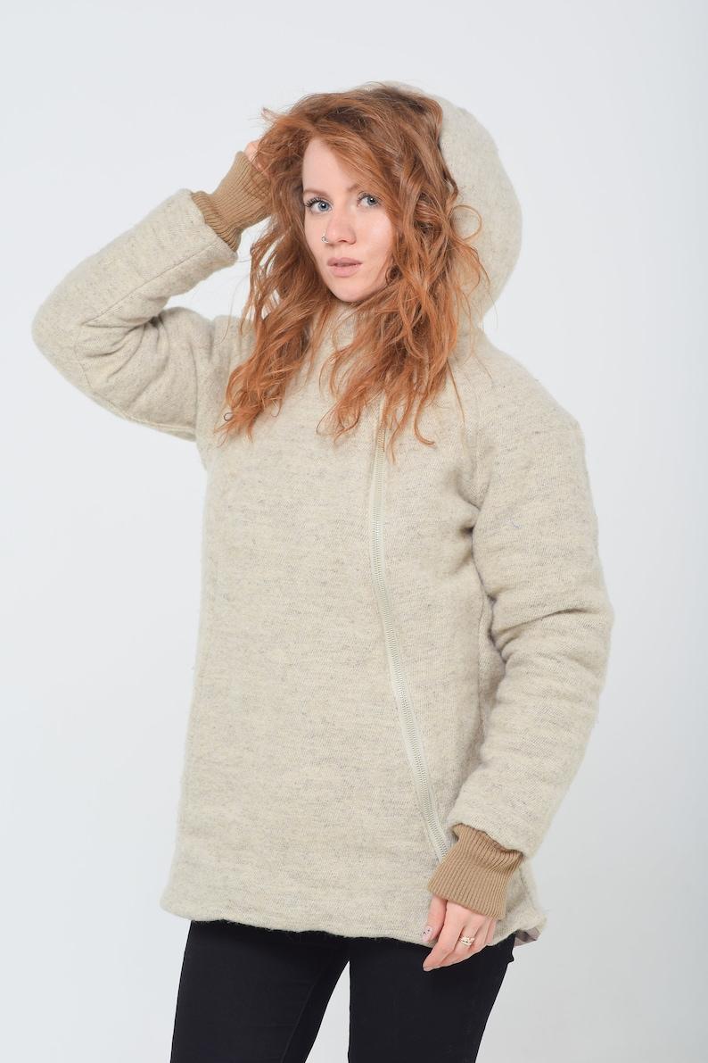 winter jacket hemp fiber -eco fashion hemp clothing Hemp women/'s jacket cannabis clothing linen jacket -yellow jacket