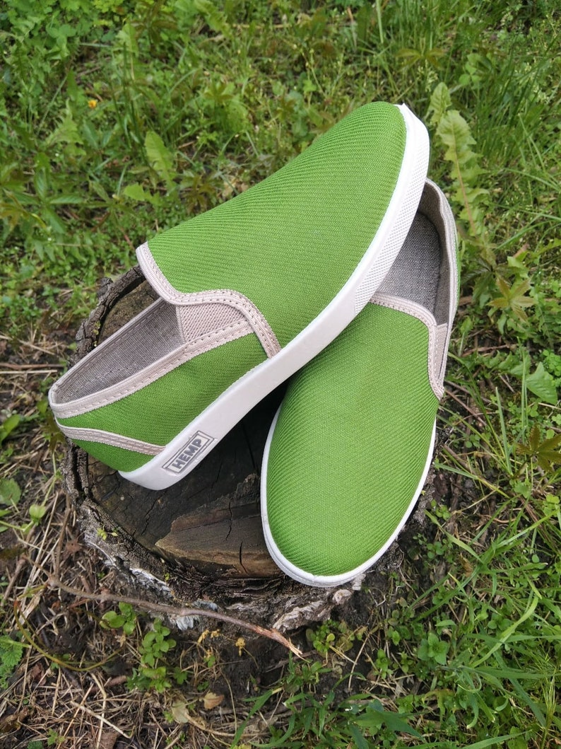 Hemp Sneakers by HempMadeInUA