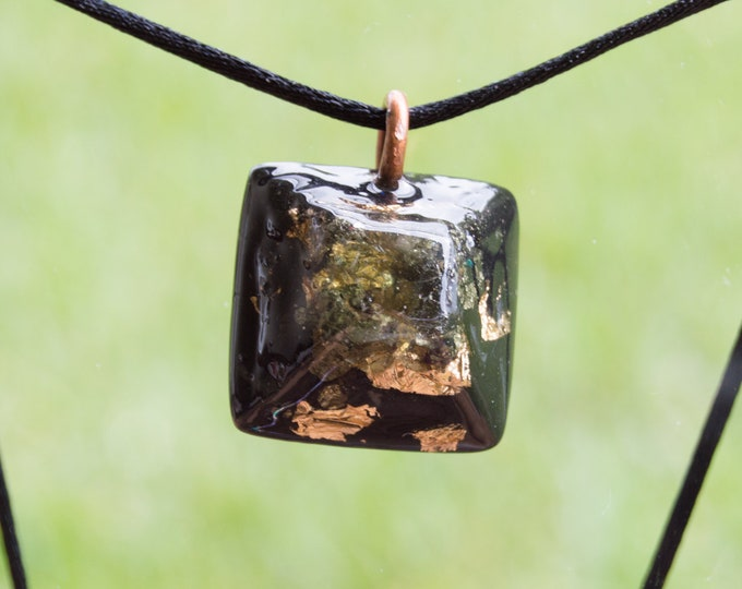 Orgonite® Moldavite Pendant - Orgone Necklace - EMF Sheild - Protection - 528hz Solfeggio