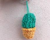 Items Op Etsy Die Op Haak Cactus Sleutelhanger Lijken