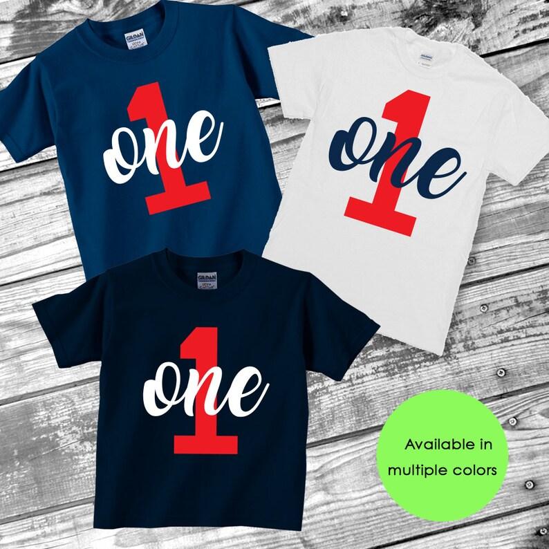 One Shirt Year Old Birthday Boys 1st O