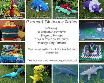 Crochet Dinosaur Ebook