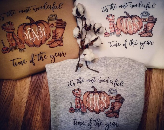 Featured listing image: Most Wonderful Time of the year Fall Sweatshirts