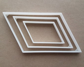 Parallelogram shape | Etsy