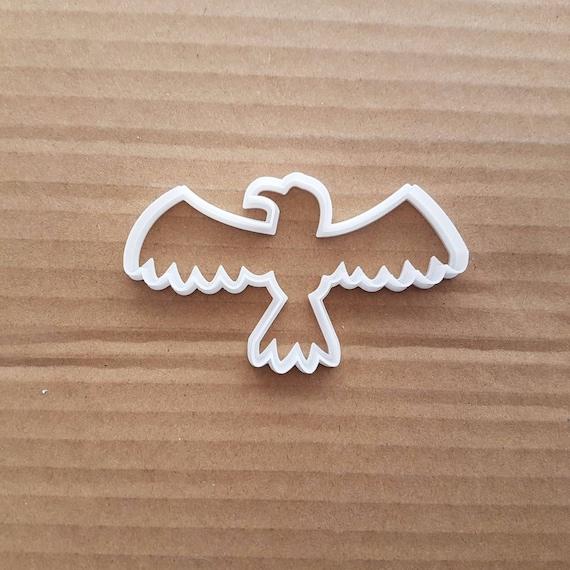 Bird Of Prey Hawk Animal Shape Cookie Cutter Dough Biscuit Pastry Fondant Sharp