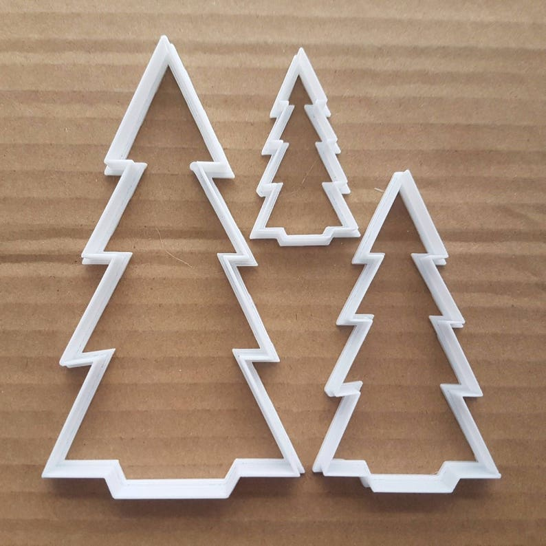 Christmas Tree Fern Plant Shape Cookie Cutter Dough Biscuit Etsy