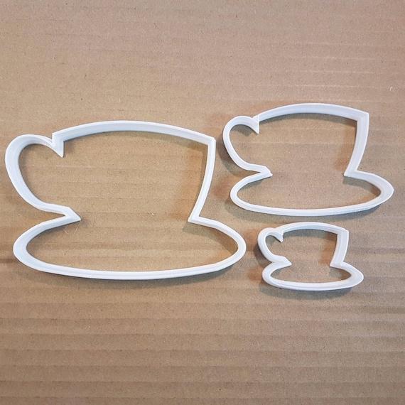 FMM Cutter étoiles Petite Tasse Gâteau Fondant Icing Stencil Décoration Outil de coupe