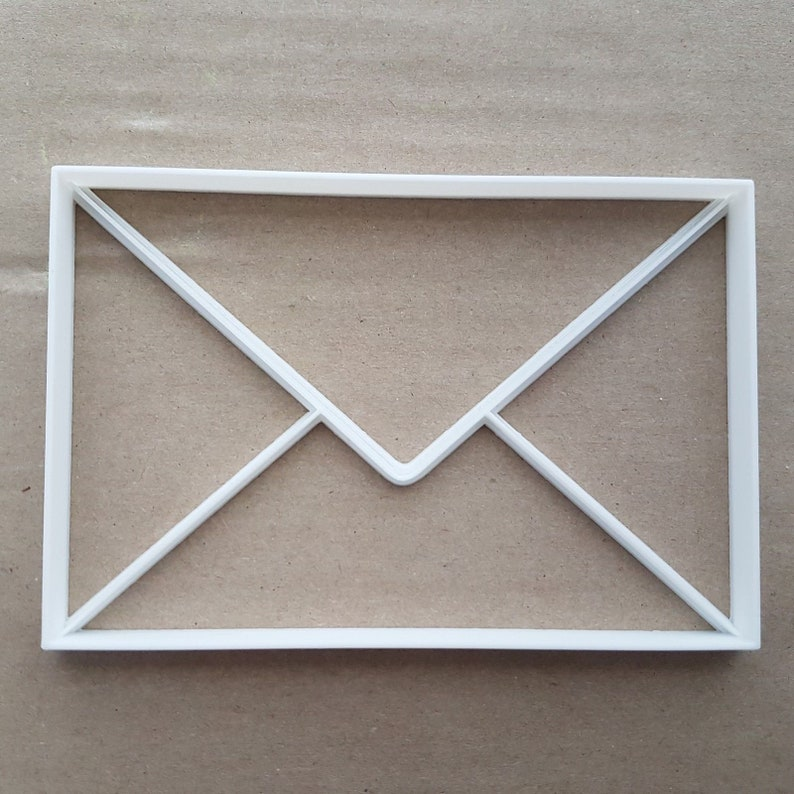 Envelope Post Package Shape Cookie Cutter Dough Biscuit