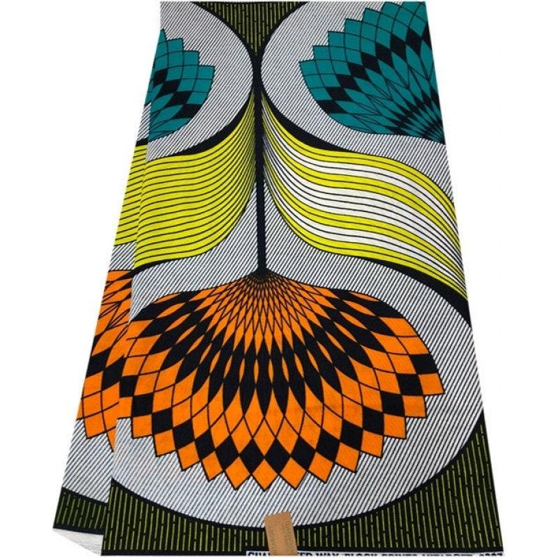 Tissu Tissu Tissu africain 6 yards  Ankara tissu haute qualité tissu  africain, idéal ce51fb778d8