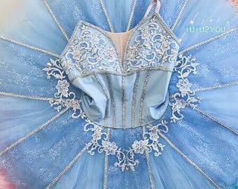 c21a8db113bbf B-010 Professional Blue Platter Ballet Tutu YAGP