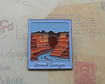 Grand Canyon Enamel Pin | USA Inspired | American Road Trip | Arizona |  Gift | Lapel Pin, Badge |Picture Frame