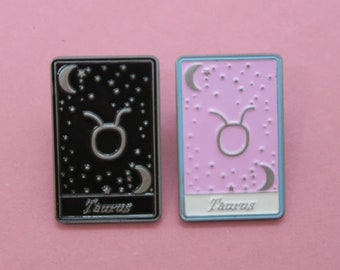 Taurus   Tarot Horoscope Cards   Colours And Black and White   Star Sign, Moon, Stars