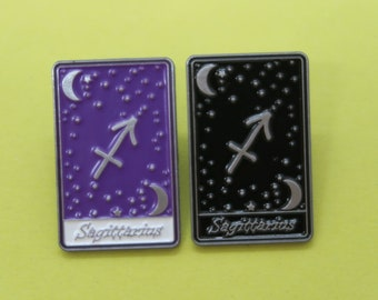 Sagittarius | Tarot Horoscope Cards | Colours And Black and White | Star Sign, Moon, Stars
