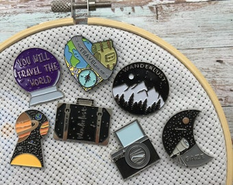 Travel Needle Minders | Space, Wanderlust Needle Nanny or Magnet