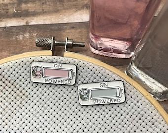 Gin & Pink Gin Powered Enamel Needle Minder |