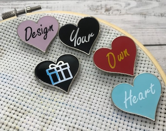 Custom Heart Needle Minder | Personalised Needle Nanny | Thoughtful Gift Bespoke