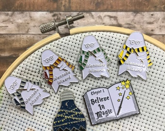 Wannabe Wizard, Needle Nanny or Magnet | Needle Minder | Believe In Magic |