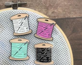 Sewing Cross Stitch Bobbin Needle Minder | Sewing, Knitting, Craft |