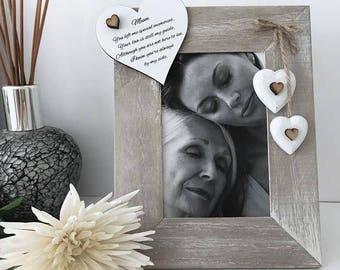 Deuil personnalisé Photo cadre cadeau
