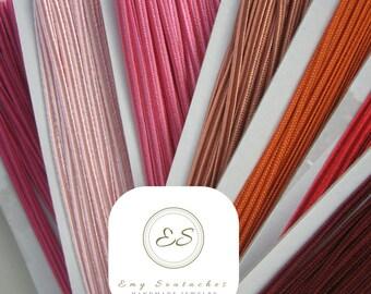 SOUTACHES-Braid-saucer soutache-soutache shades Red and pink