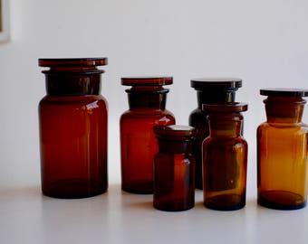 Vintage Pharmacy Jars