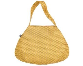 Large bag BOULE waxed cotton