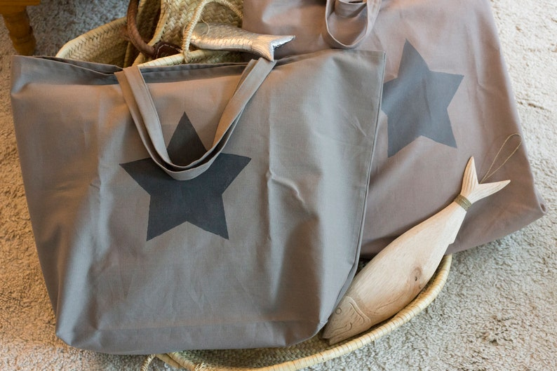 TOTE BAG XXL New Taupe